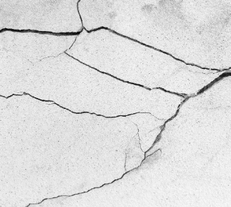 cracked slab floor